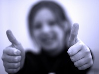 thumbs up by apdk on Flickr http://www.flickr.com/photos/62337512@N00/3958637561/